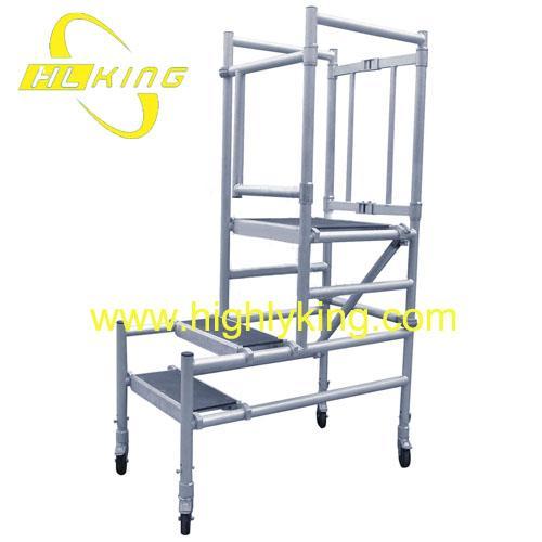 Aluminium Collapsible Work Platform Folding Mobile