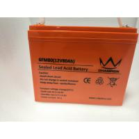 Wholesale OEM 12v Deep Cycle Marine Battery , Flat Rechargeable Lithium Battery from china suppliers