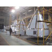 Two Grade Cyclone Horizontal Air Stream Spray Dryer , Rotary Atomizer Spray Dryer