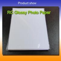 Wholesale 190gsm rc glossy photo paper from china suppliers