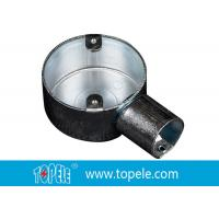 Wholesale TOPELE 25mm / 32mm BS Electrical Conduit Circular Junction Box For Conduit Fittings from china suppliers