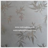 Wholesale Silk Screen Printing Glass/Art Glass/ Tempered/Toughened Glass from china suppliers