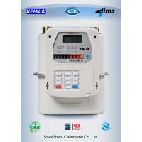 China Mobile Payment M-PESA Prepaid Gas Meter 5 Year Above Battery Life on sale
