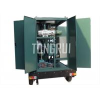 Quality Low Noise Transformer Oil Purifier High Vacuum Portable Oil Filtration Systems for sale