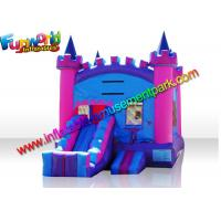 Wholesale Turrets Colorful Commercial Bouncy Castles  Slide  5 x 4  Meters for Girl from china suppliers