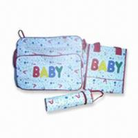 Wholesale Diaper Bag, Made of Polyester, Measuring 35 x 32 x 20cm from china suppliers