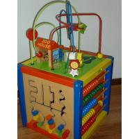 Wholesale wooden baby beads soother holder-Educational toys from china suppliers