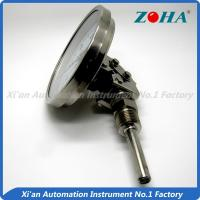 Wholesale Universal Mounting Bimetal Dial Thermometer For Measuring Chemical Textile from china suppliers