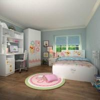 Buy cheap Kids' Bedroom Wooden Furniture, E0 Grade, with Chair & Computer Desk, Cartoon from wholesalers