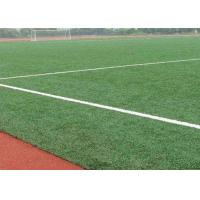 China 12000 Dtex Natural Looking Outdoor Artificial Turf For Football Field Fire Resistant on sale