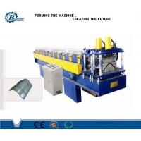 Wholesale 0.3 - 0.7mm Tile Roof Ridge Cap Roll Forming Machine , Roofing Sheet Making Machine from china suppliers