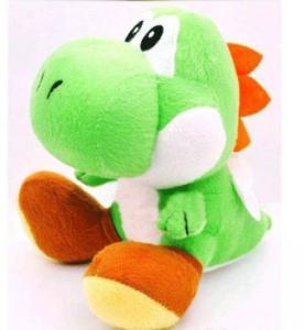 China Nintendo Super Mario Brothers Bros Green Yoshi 7 Stuffed Toy Kids Plush Doll on sale