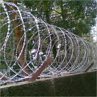 Professional Modern Security Razor Barbed Wire Fencing High Tensile BTO-10 BTO-15