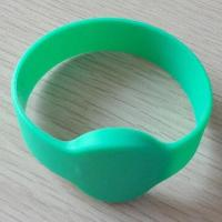 Wholesale 13.56MHz RFID Wristband with Silicone Material and HF Frequent  from china suppliers