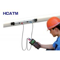 China Handheld Flow Meter Transducer For Alcohol / Beer / Various Oils on sale