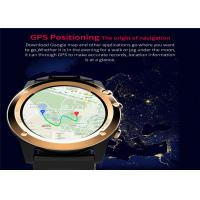 Buy cheap GPS Navigation LED Smart Watch MTK6572 Dual Core CPU Stainless Steel Watch Case from wholesalers