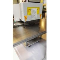 Wholesale Manual / Motorized V-Cut Pcb Depanel Machine with two round blades from china suppliers