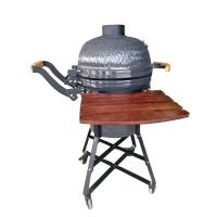 Wholesale Cast Iron Grate Porcelain Enamel Big Egg Grill 21 Inch High Pressure Protection Device from china suppliers