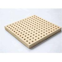 Wholesale Theater Perforated Wood Acoustic Panels MDF Melamine Surface Aluminum Keel from china suppliers