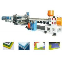 Wholesale PP PE PC PVC Foam Board Extrusion Line Single Screw Extruder Machine Energy Saving from china suppliers