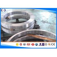 China H 13 Steel Hot Forged Rings / Forged Metal Rings With Polished Surface on sale