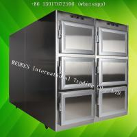 Wholesale Hospital Stainless Steel Mortuary Freezer Corpse Refrigerator Corpse Freezer with Six Body Chamber from china suppliers