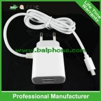 Best with cable for Micro usb and phone Universal travel charger