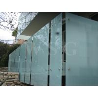 Buy cheap Clear Acid-etch Glass from Wholesalers