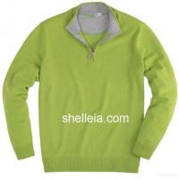 Wholesale Mens Cashmere Sweater, Mens Zipper Cardigan, Man's Merino Pullover from china suppliers