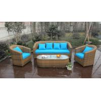 China 5pcs outdoor wicker garden rattan sofa set high-end quality rattan sofa on sale