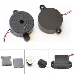 China 100dB 105dB Diameter 42mm Wire Active Car alarm Buzzer , continuant tone pluse tone buzzer on sale