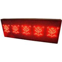 Wholesale P10 LED Display Sign, 1-8 Line 256x64 RED from china suppliers