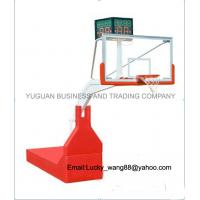 FIBA certification high grad flexible competition basketball stand indoor type