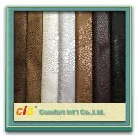 Wholesale 0.6mm Thickness PVC Decorative Artificial Leather For Handbag / wallet from china suppliers