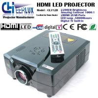Wholesale home theater led projector with digital TV built in & 2200 lumens & high resolution for home use from china suppliers