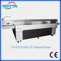 Buy cheap Glass uv flatbed printer for ceramic,marble,tiles,mosaic,wood,leather printing from wholesalers