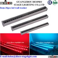 Wholesale Disco Nightclub LED Wall Washer Lights RGB DMX Stage Lighting 36*3W from china suppliers