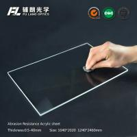 Quality Robot partitions with abrasion resistant acrylic sheet for aluminum extrusion for sale