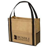 Wholesale Customized Reusable Non Woven Handbag Pp Laminated Bags Good Breathability from china suppliers