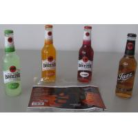 China PP / PE / OPS Waterproof Self adhesive Label for Bottled Beverage on sale