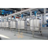 Wholesale 8000 Liter Beverage Mixing Machine Tanks Series For Juice Processing Type from china suppliers