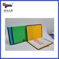 Cheap PP Stationery A4 Customized With Elastic Sewing Edge File Folders Display Books