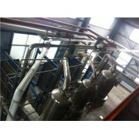 Wholesale Evapotrative Water Cooled Plate Heat Exchanger Muiltiple Effect Juice Milk Concentration from china suppliers