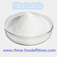 Wholesale Food Additives Zinc Lactate food grade CAS:16039-53-5 from china suppliers