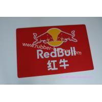Wholesale Rectangular Red Rubber Door Mat Eco-friendly With Redbull Logo from china suppliers