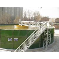 Wholesale Round Glass Lined Steel Water Storage Tanks 0.25 - 0.45 Mm 30 Years Service Life from china suppliers