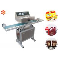 Wholesale 0 - 12 M/Min Sealing Speed Vertical Sealing Machine Glass Bottle Paper Cup Sealing from china suppliers