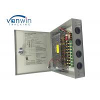Wholesale Key Lock 9CH 12V DC Camera CCTV Security Camera Power Supply Box 24V DC 10 AMPs from china suppliers