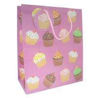 Wholesale White Custom Printed Paper Gift Bags With Twisted Handles For Christmas Gift from china suppliers