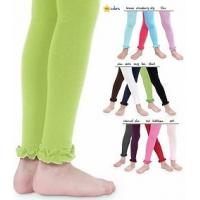 Wholesale Jacquard Frilly Neon Green Tights , Beautiful Plus Size Footless Tights from china suppliers